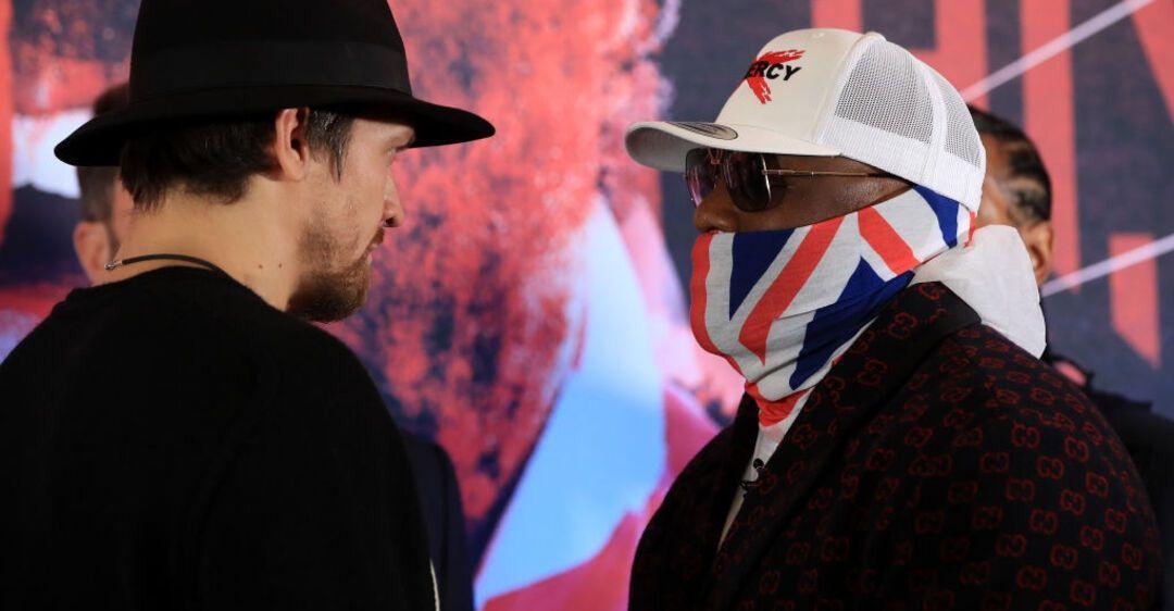Усик и Чисора еще ведут переговоры с промоутером / фото boxingscene.com