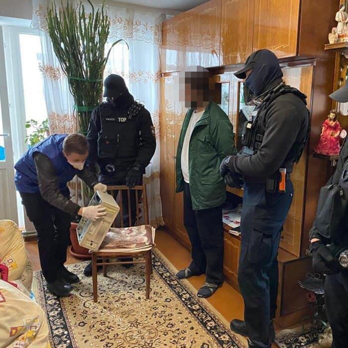 Підозрюваного затримано / kyiv.gp.gov.ua