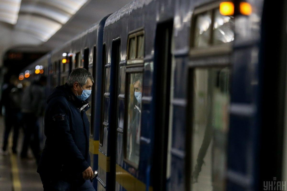 Киевское метро приходит в себя после карантина / фото УНИАН