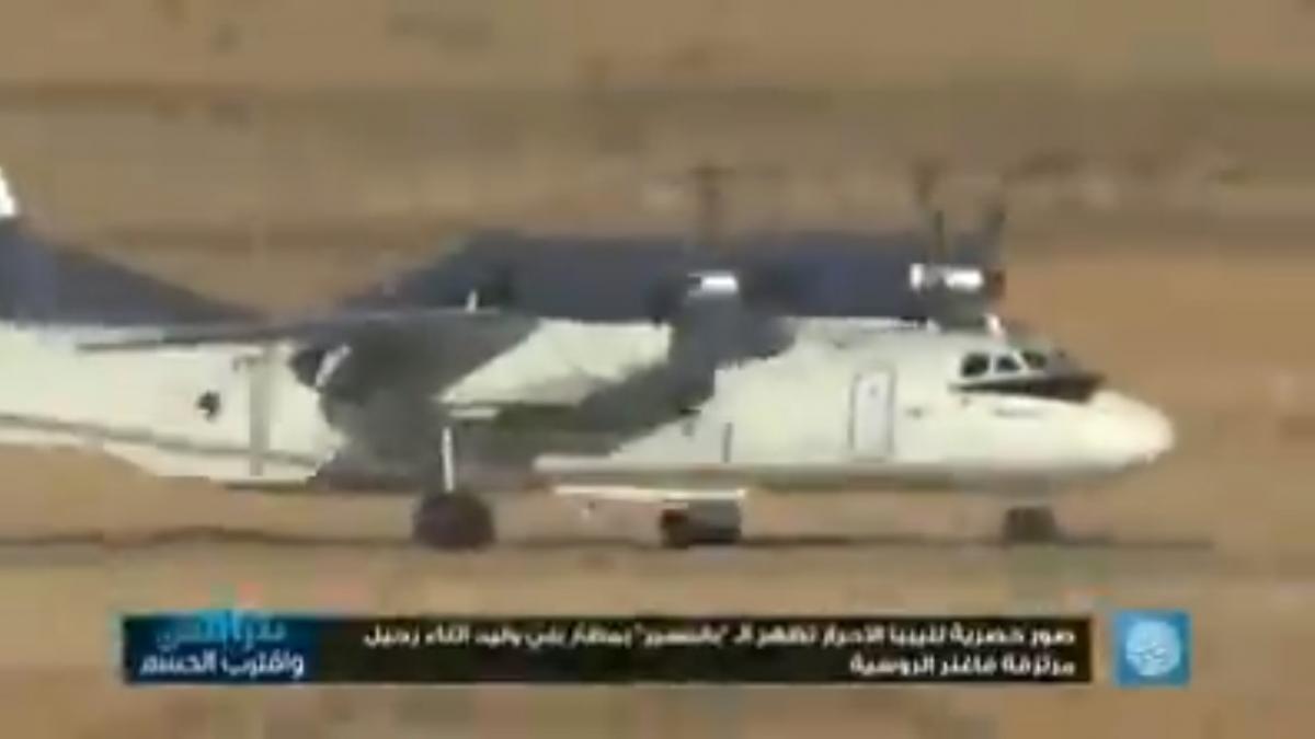 За даними ООН, за армію Хафтара воюють від 800 до 1,2 тисячі найманців ПВК / скріншот з відео