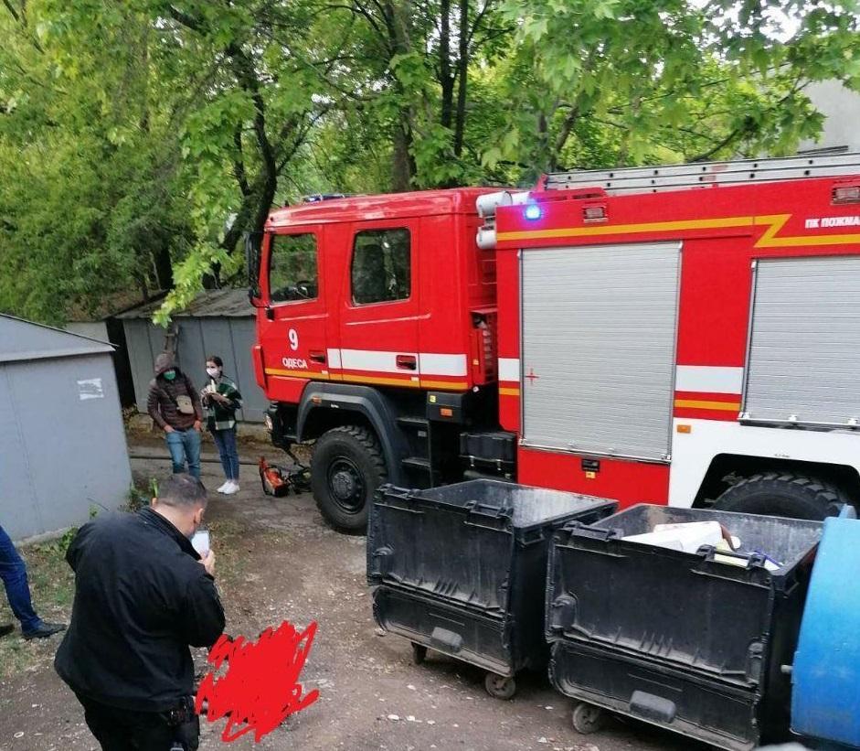 В Одесі на вулиці знайшли обгорілий труп / фото odessamedia.net