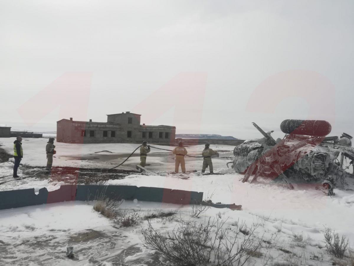 Ми-8 разбился / фото 112