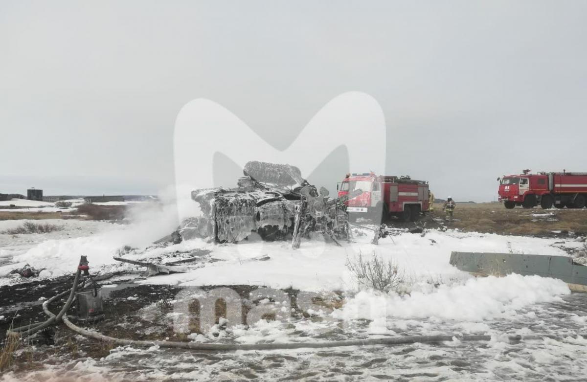 Ми-8 разбился / фото Mash