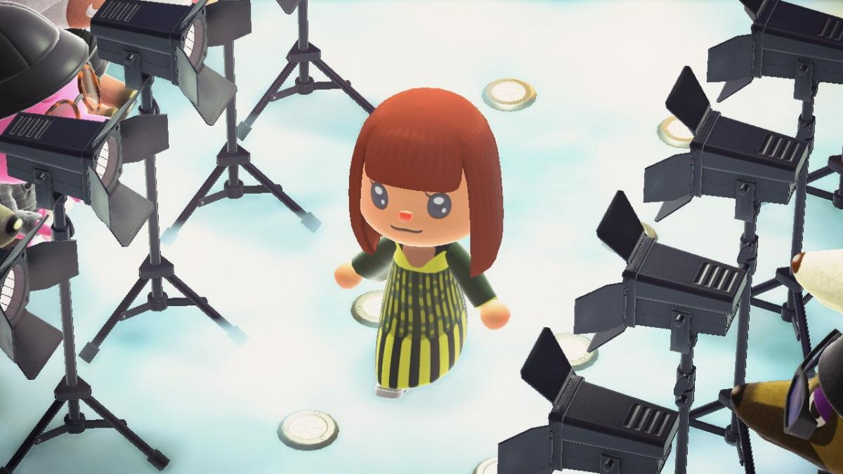 В Animal Crossing провели первый модный показ / youtube.com/ Reference Festival