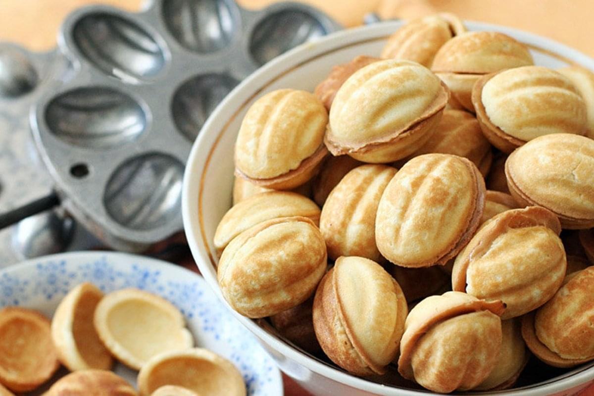 Как приготовить Орешки со сгущенкой / фото my-food-advisor.com