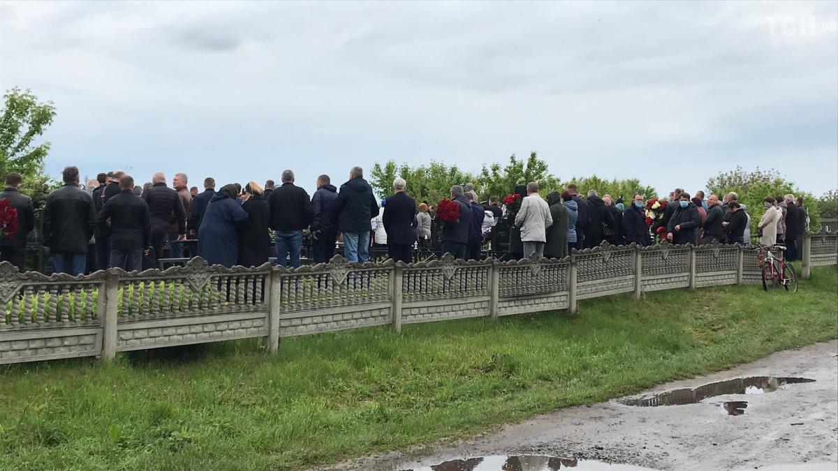 Валерия Давыденко похоронили в Носовке Черниговской области / фото ТСН