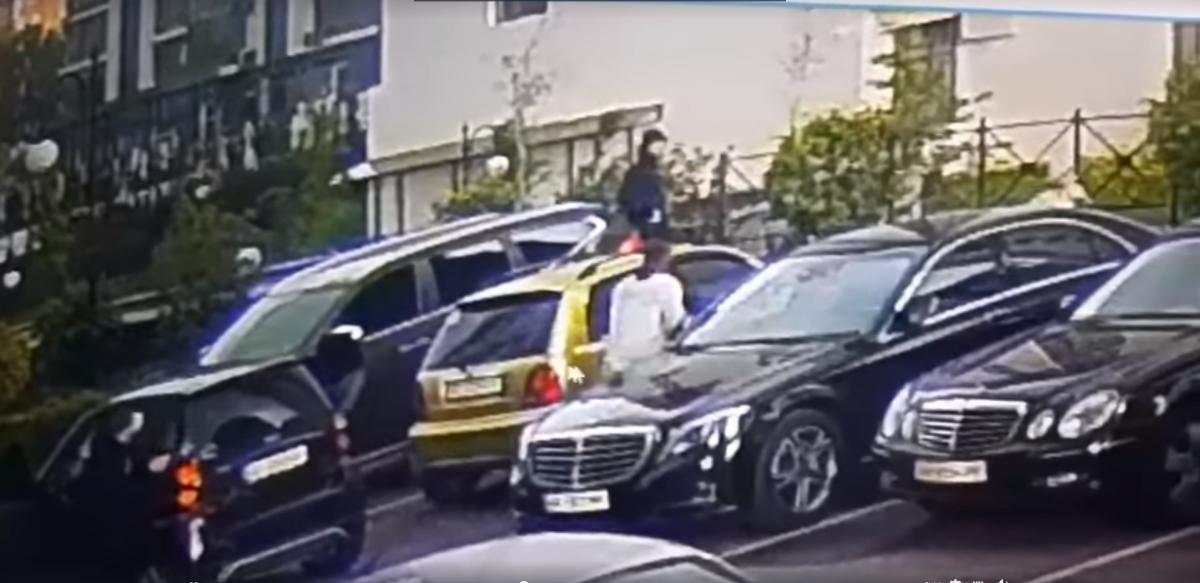 После стрельбы полиция объявила план «Перехват» / скриншот из видео