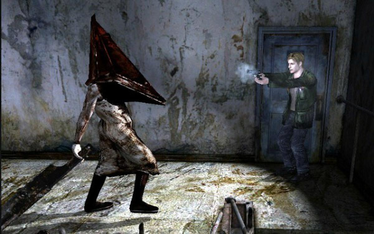 В Silent Hill 2 впервые появился Пирамидоголовый / скриншот