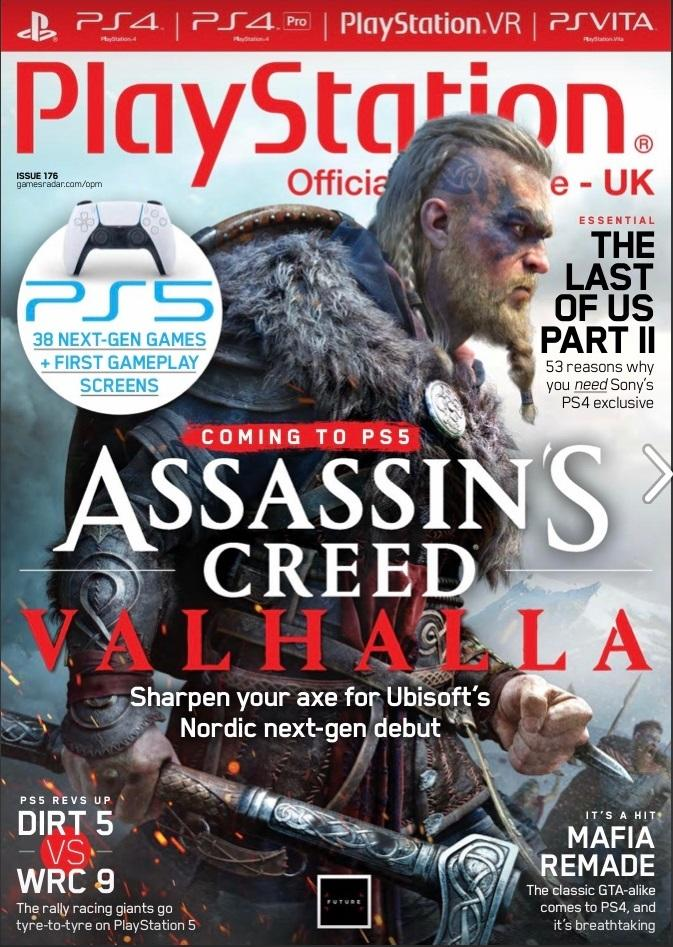 Обложка июньского журнала PlayStation: The Official Magazine / twitter.com