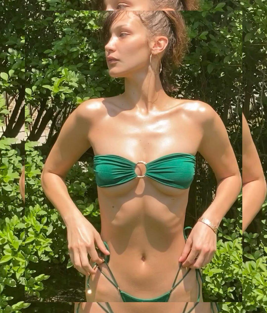 Белла Хадид снялась в купальнике / instagram.com/bellahadid