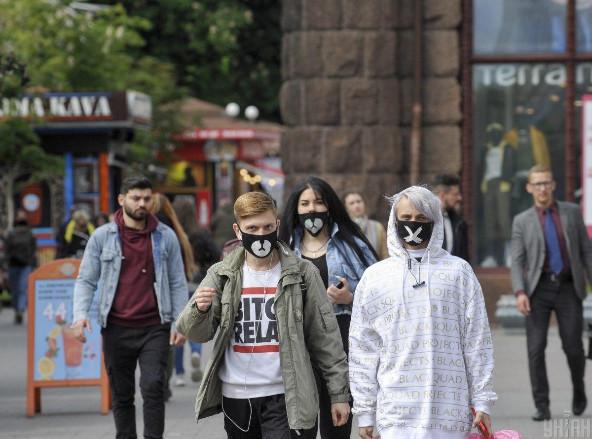 В Киеве выявлены 55 новых случаев заражения \ УНИАН