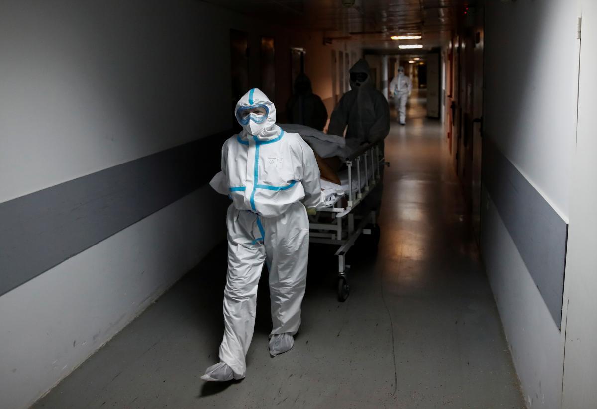 Cитуация с коронавирусом на утро 10 июня / REUTERS