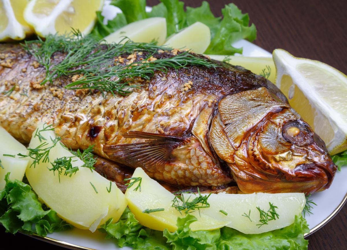Короп у духовці - рецепт / фото ua.depositphotos.com