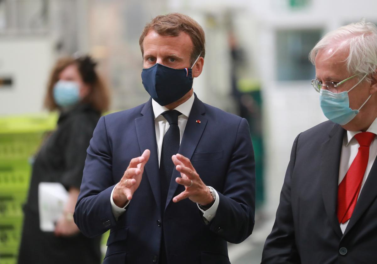 Президент Франции Эммануэль Макрон / REUTERS