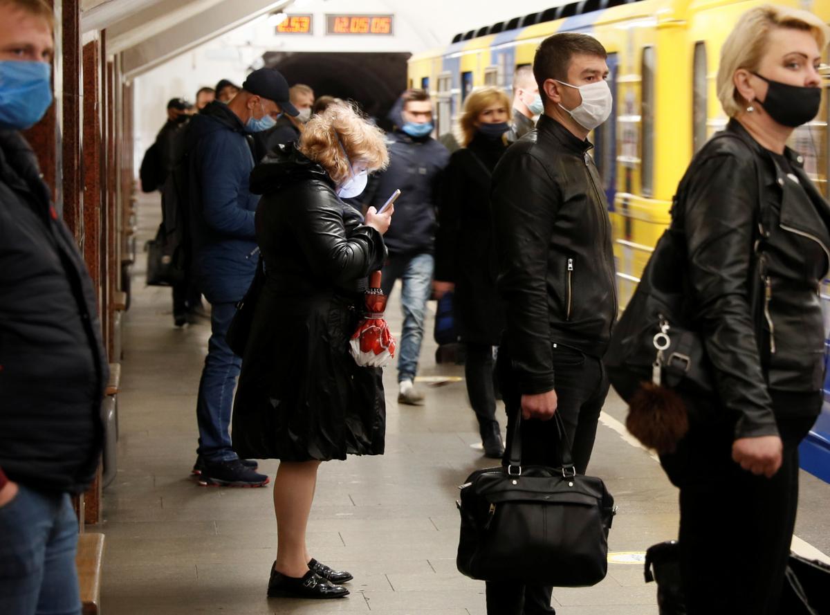 Метро в Києві / Ілюстрація REUTERS