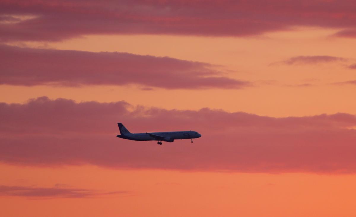 Самолет упал в воду \ фото REUTERS