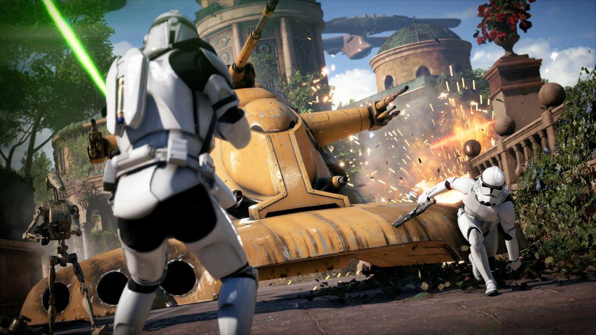 Star Wars Battlefront II можно будет загрузить уже 2 июня / store.playstation.com