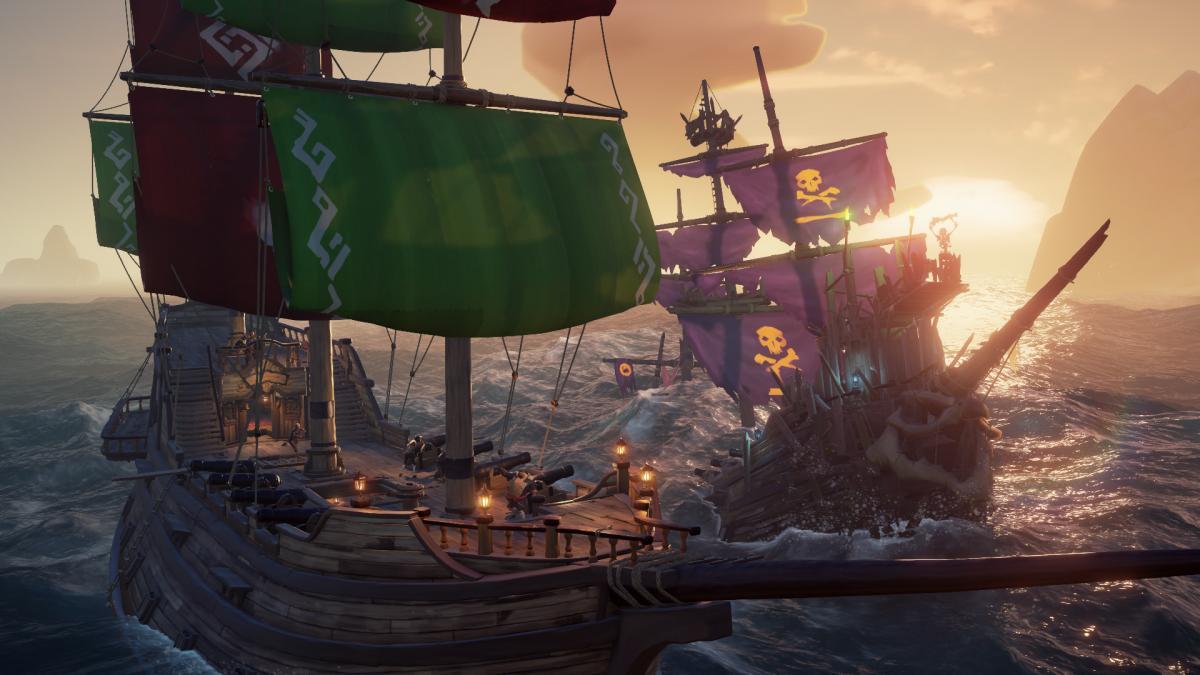 Sea of Thieves - веселый экшн, в который нужно играть только в компании/ store.steampowered.com