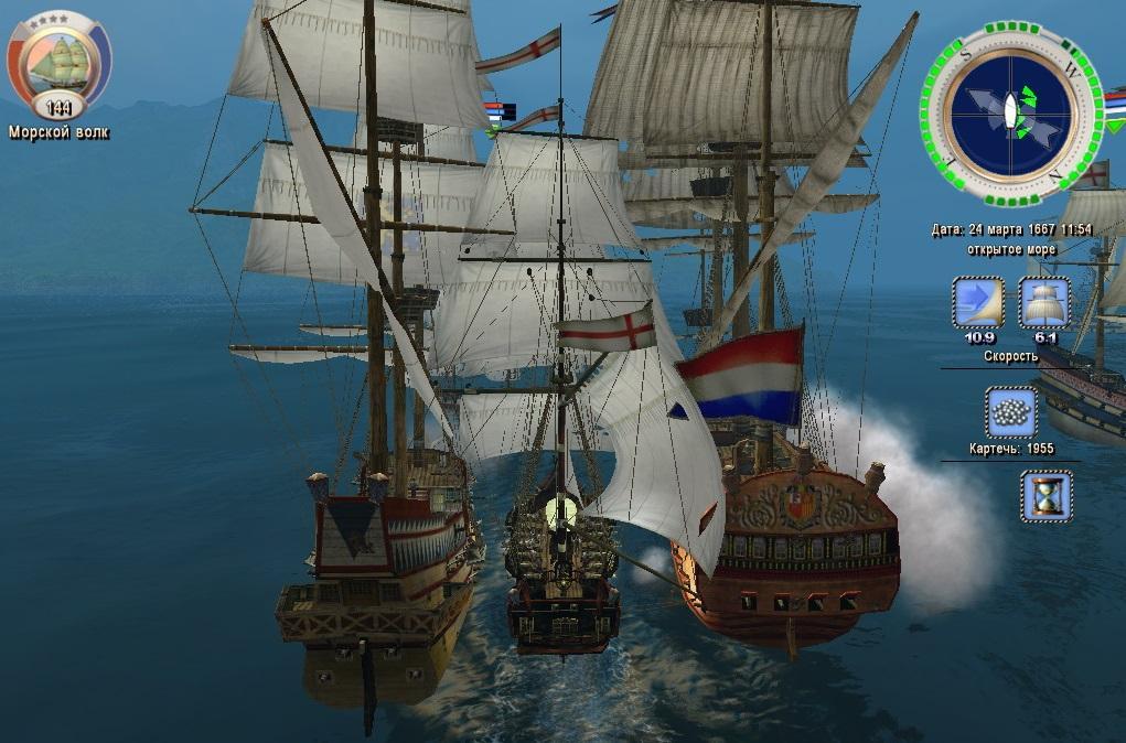 «Корсары» выглядят неважно, но бывалого пирата плохой графикой не напугать / скриншот