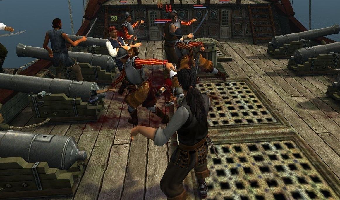 Бои в игре сложно назвать виртуозными / скриншот