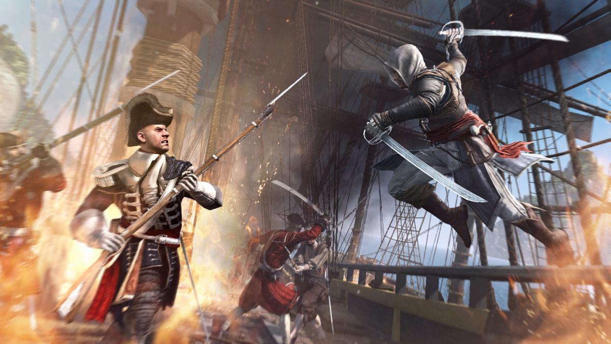 Assassin's Creed IV: Black Flag - самый зрелищный экшн про пиратов / store.steampowered.com