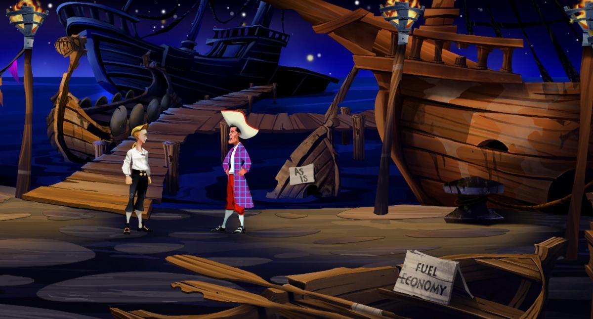 Ремейк The Secret of Monkey Island смотритсяхорошо / store.steampowered.com