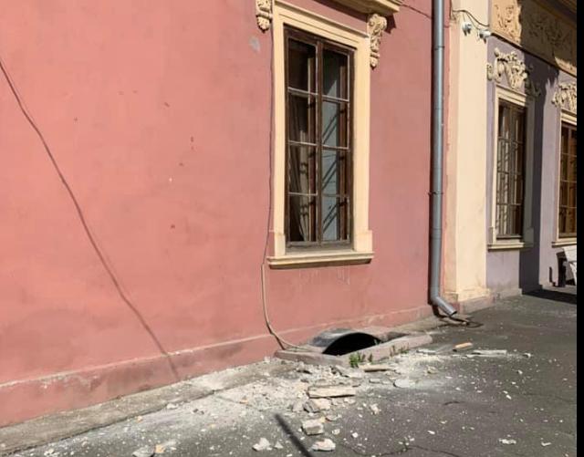 Через інцидент ніхто не постраждав / фото facebook.com/alexandra.kovalchuk