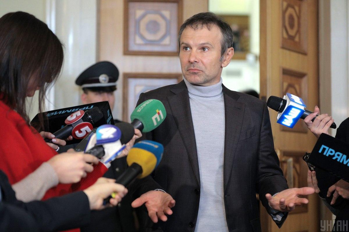 Святослав Вакарчук задекларировал более 3,5 миллиона гривень дохода / фото УНИАН