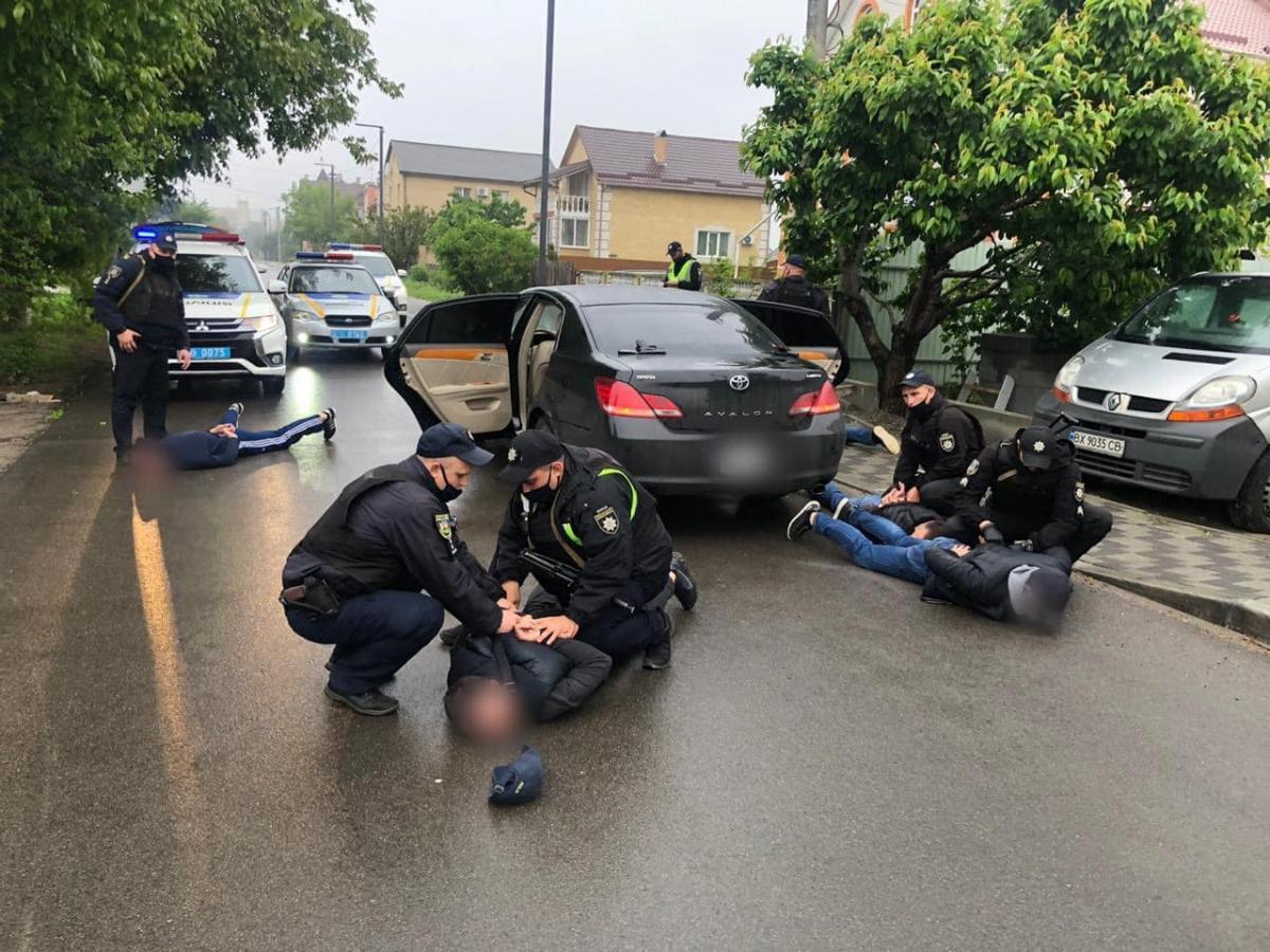 У Броварах сталася стрілянина / фото МВС