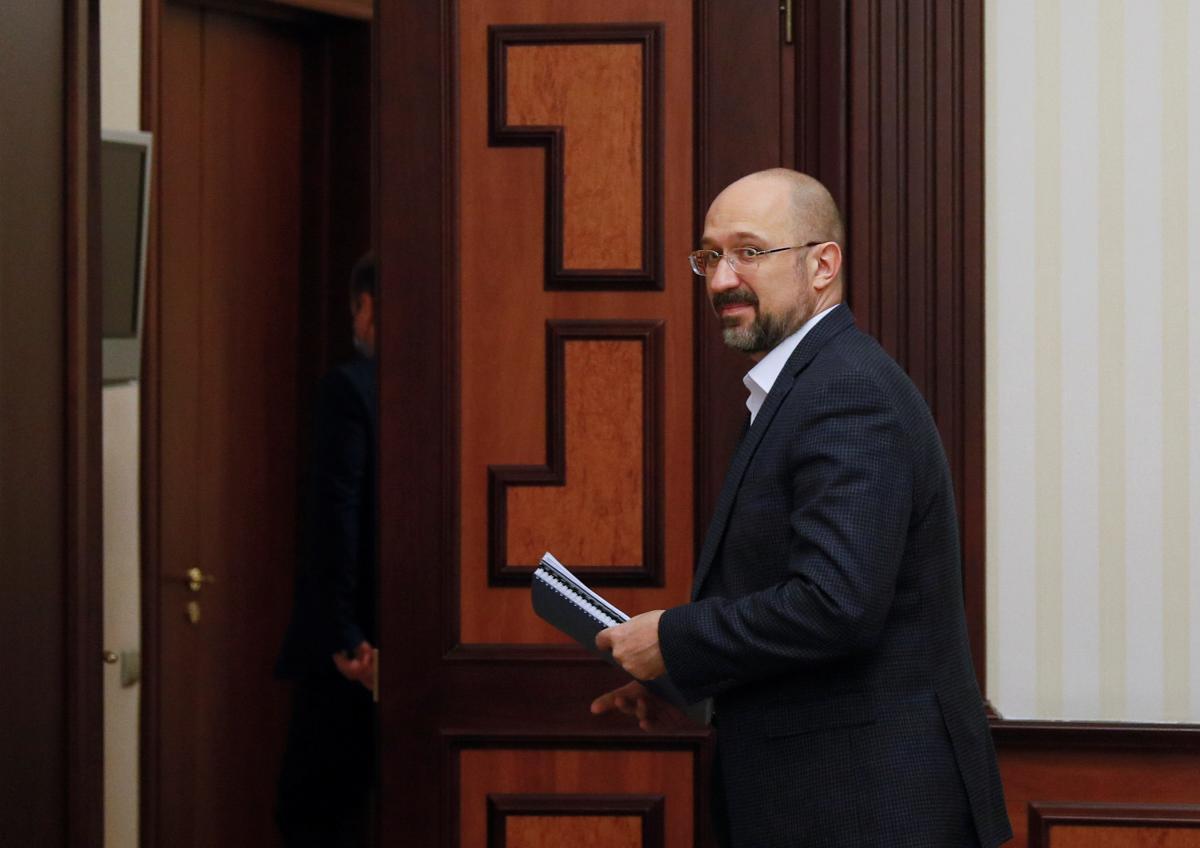 Ukrainian Prime Minister Denys Shmyhal / REUTERS