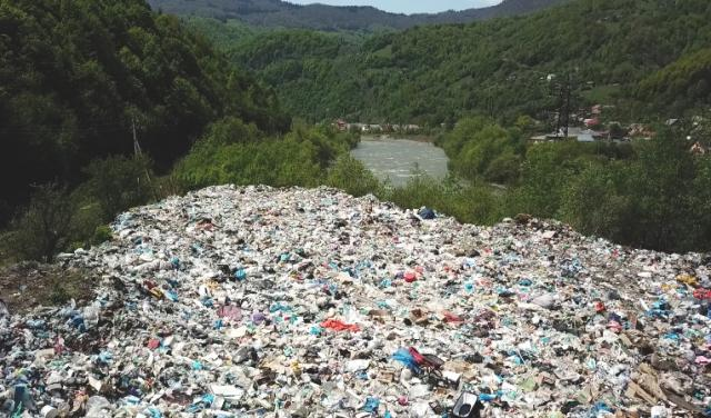 Сміттєве звалище в Квасах на Закарпатті / Фото mukachevo.net