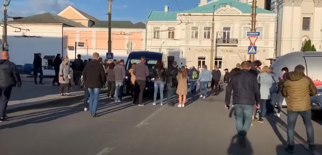 Затриманочоловікаможливої суперниці Лукашенка / скріншот відео