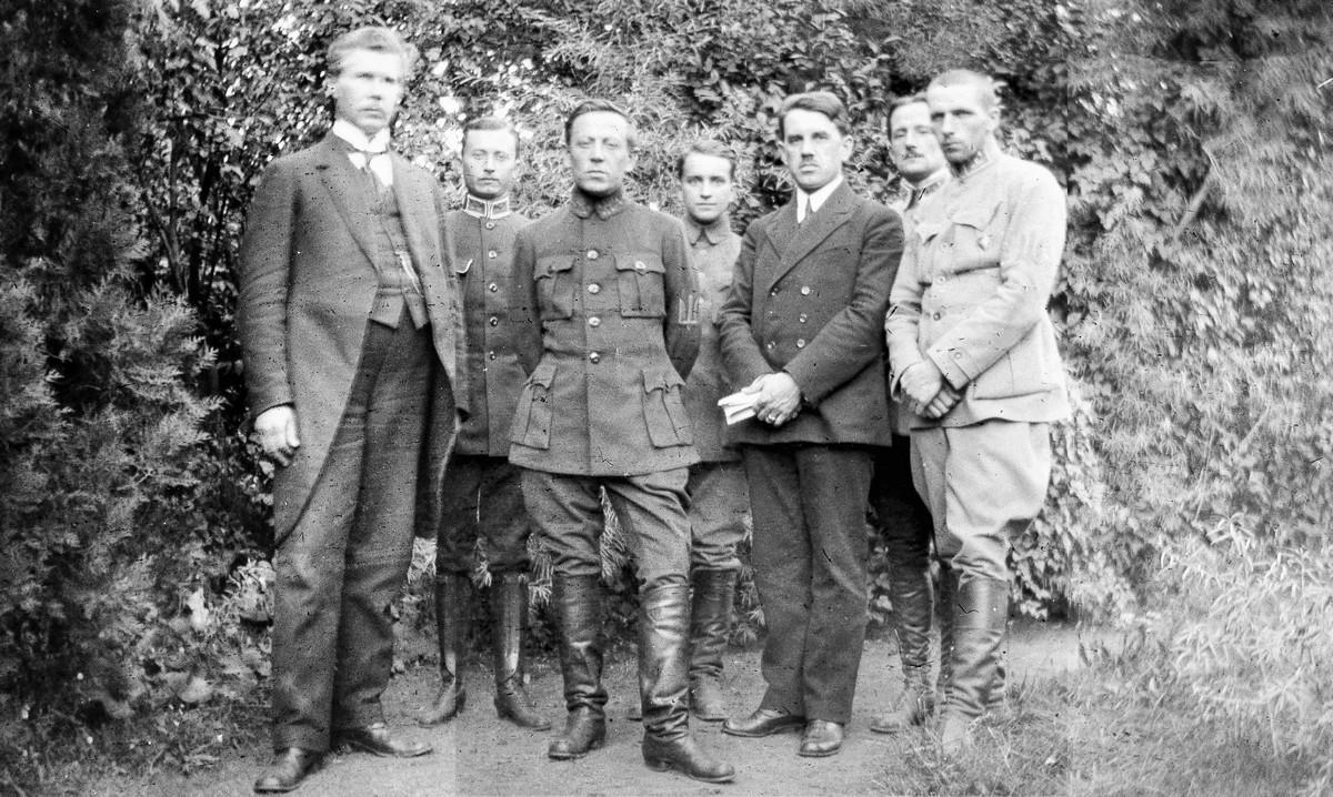 Петлюра під час перебування в Кам'янці-Подільському в 1919 році / фото tsdavo.gov.ua