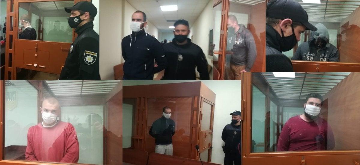 Суд у Броварах обирає запобіжнийзахідучасникам конфлікту / фото Twitter/МВС