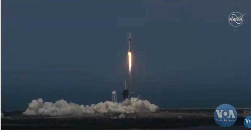 Ракету запустили со второй попытки / скриншот