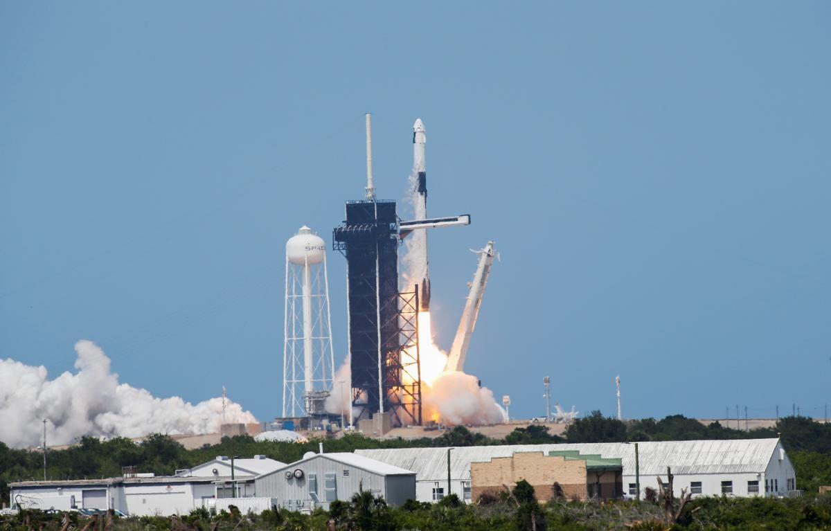Ракета вывела на орбиту автоматический грузовой транспортный корабль Cygnus / Иллюстрация REUTERS