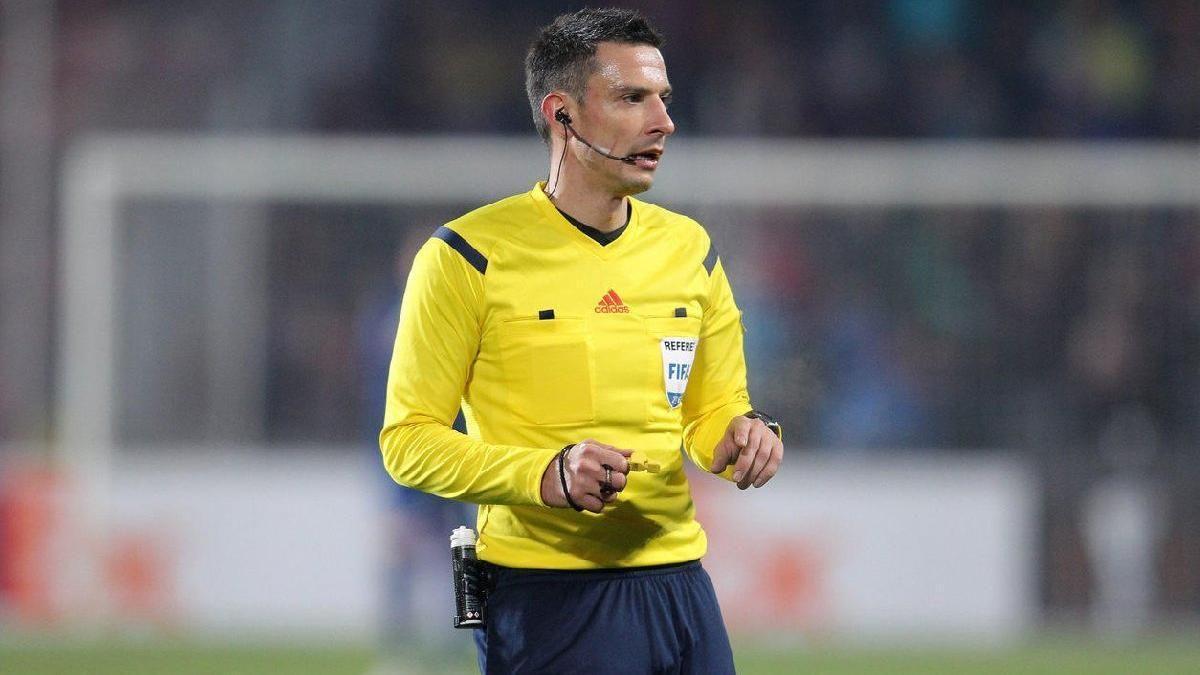 Славко Винчич работал на матче Шахтера в нынешнем сезоне / фото uefa.com