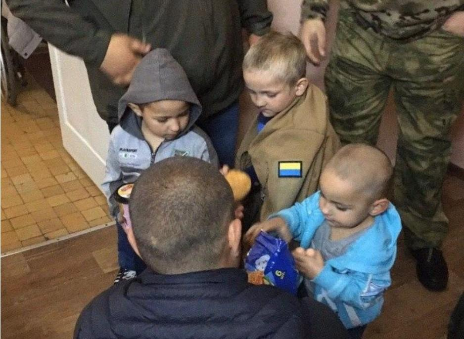 Детей нашли на вершине террикона шахты «Добропольская» / фото полиция Донецкой области