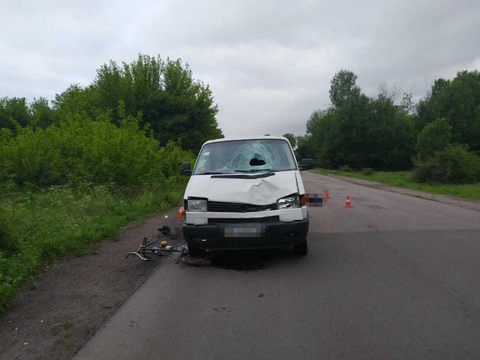 У результаті ДТП загинув неповнолітній велосипедист / фото поліції Одеської області