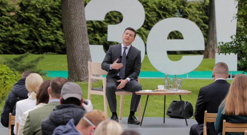 Year of unfulfilled promises : Overview of Zelensky press conference