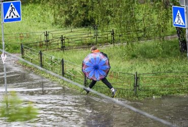 В Киеве 30 мая прошел рекордный дождь