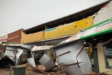 В Западной Австралии бушует сильный шторм (видео)