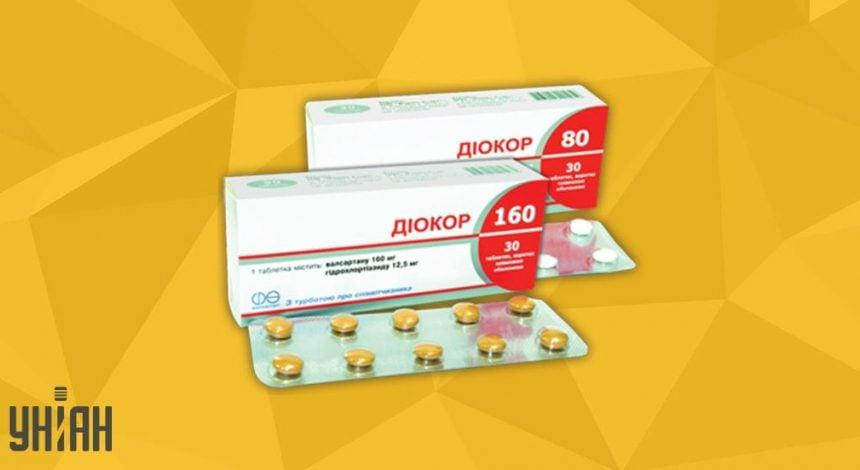 Диокор 160 фото упаковки