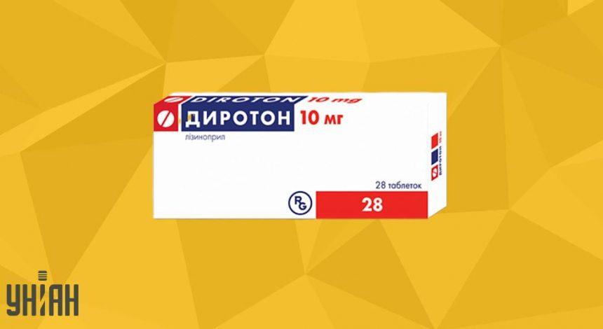 Диротон фото упаковки