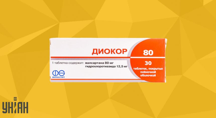 Диокор 80 фото упаковки