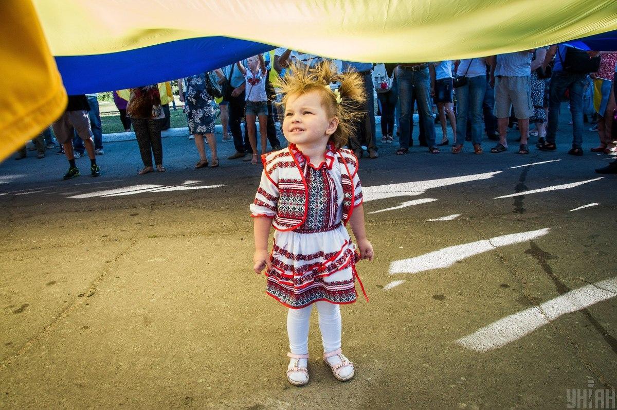 Более 80% граждан Украины считают себя патриотами / фото УНИАН