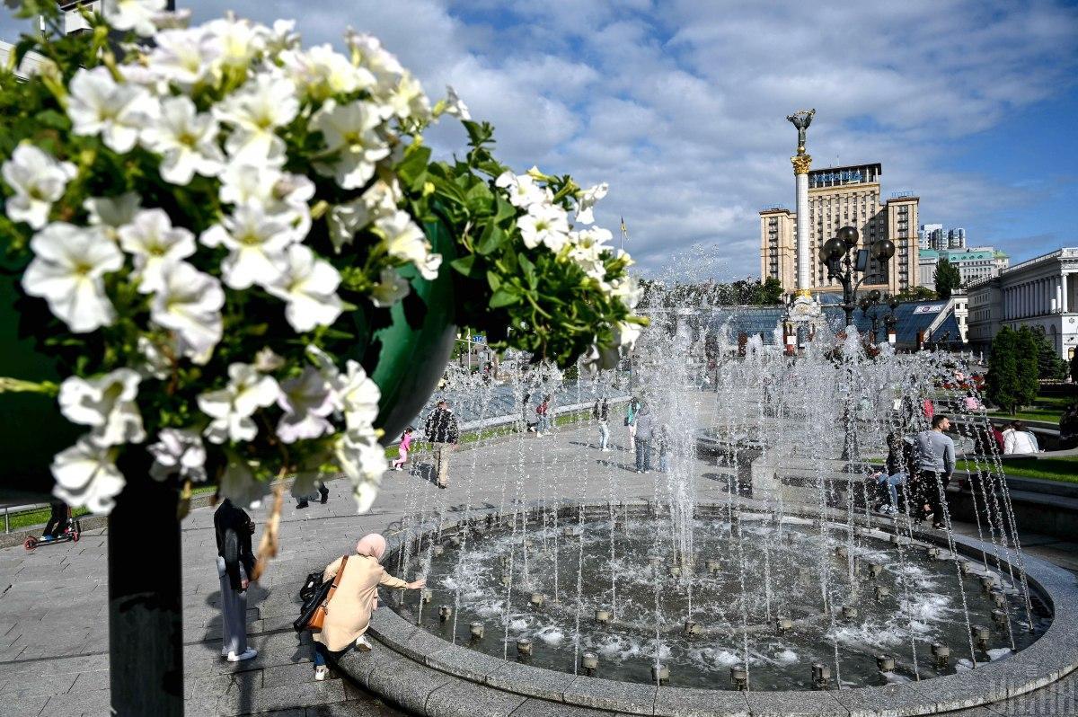 Погода в Києві сьогодні буде прохолодною / фото УНІАН