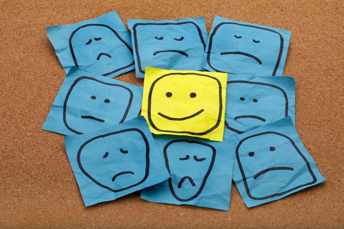 Много ли в Украине счастливых людей / фото ua.depositphotos.com