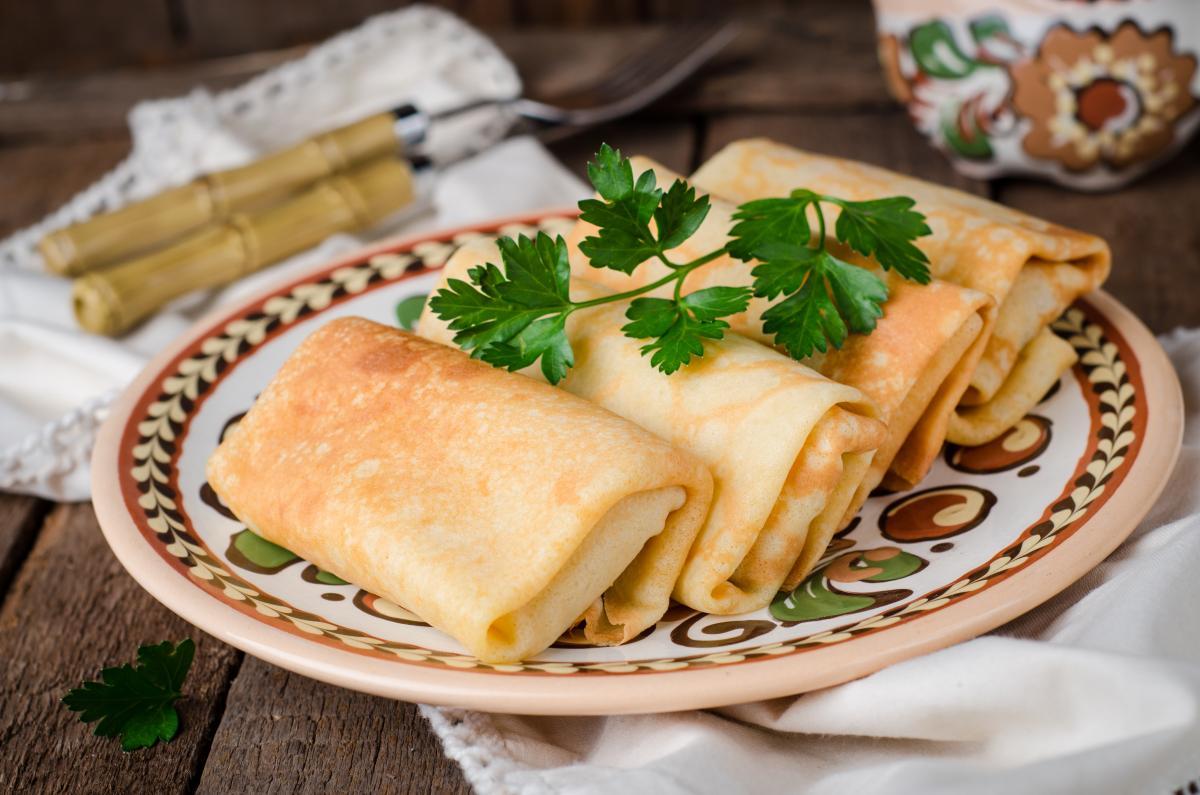 Самые вкусные блинчикис мясом - рецепт / фото ua.depositphotos.com