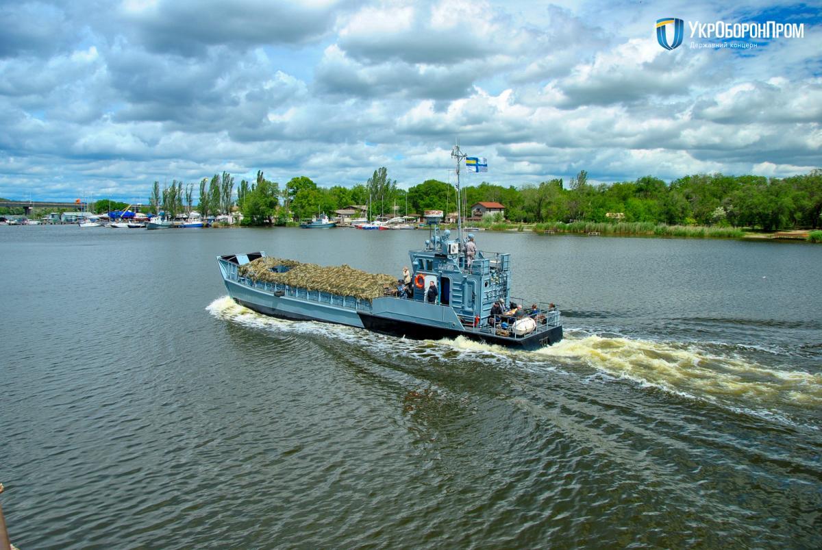 Специалисты восстановили конструкции корпуса и обшивку / Укроборонпром